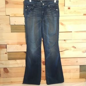 7 For All Mankind 'A' Pocket flare jean size 25